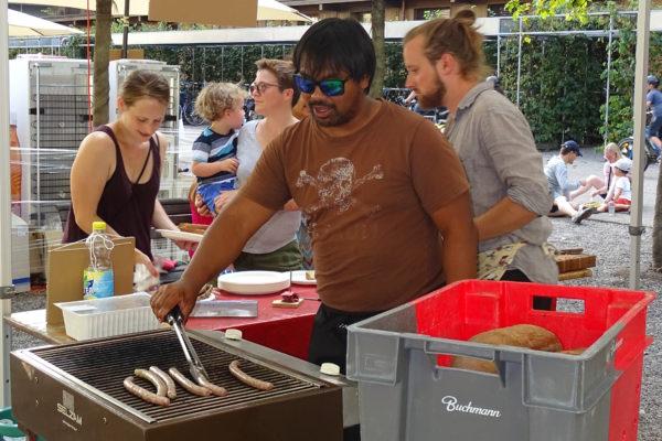 Sommerfest Wurstgrill