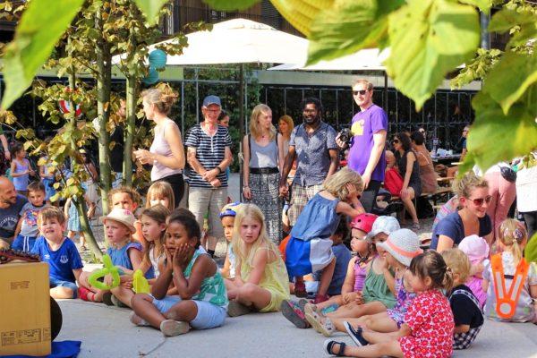 Sommerfest Zuhörer