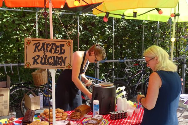 Sommerfest Infostand