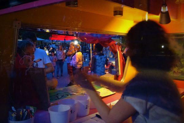 Sommerfest Kassenwohnwagen