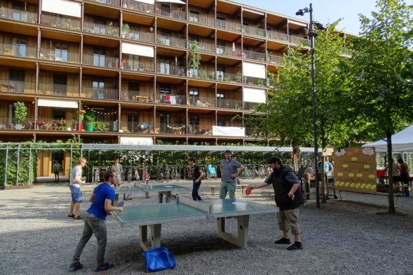 Sommerfest Tischtennisturnier