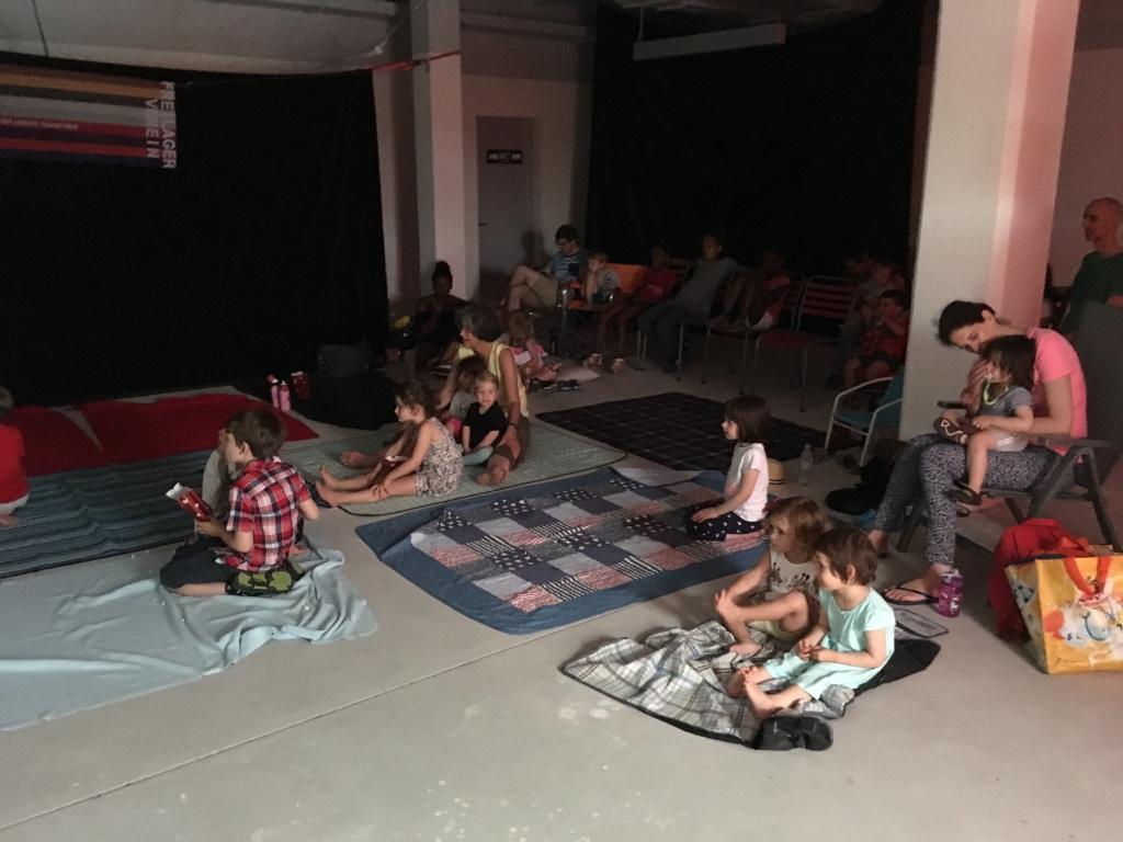 Kino im Freilager Drinnen