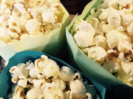 Freilager Kino 2 Ausgabe Popcorn