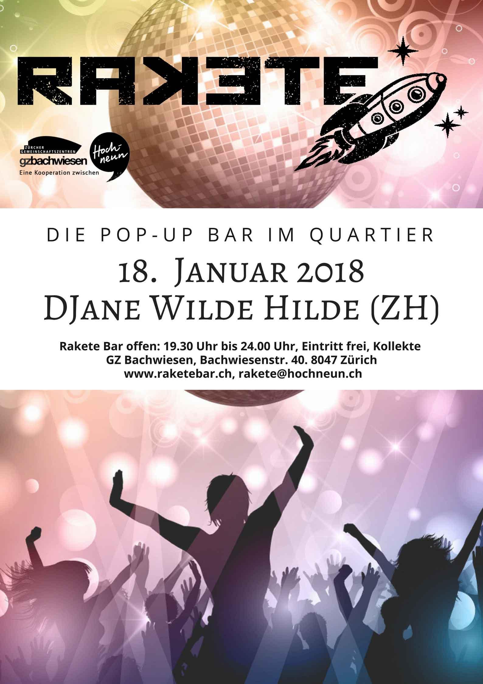 DJane Wilde Hilde (ZH)