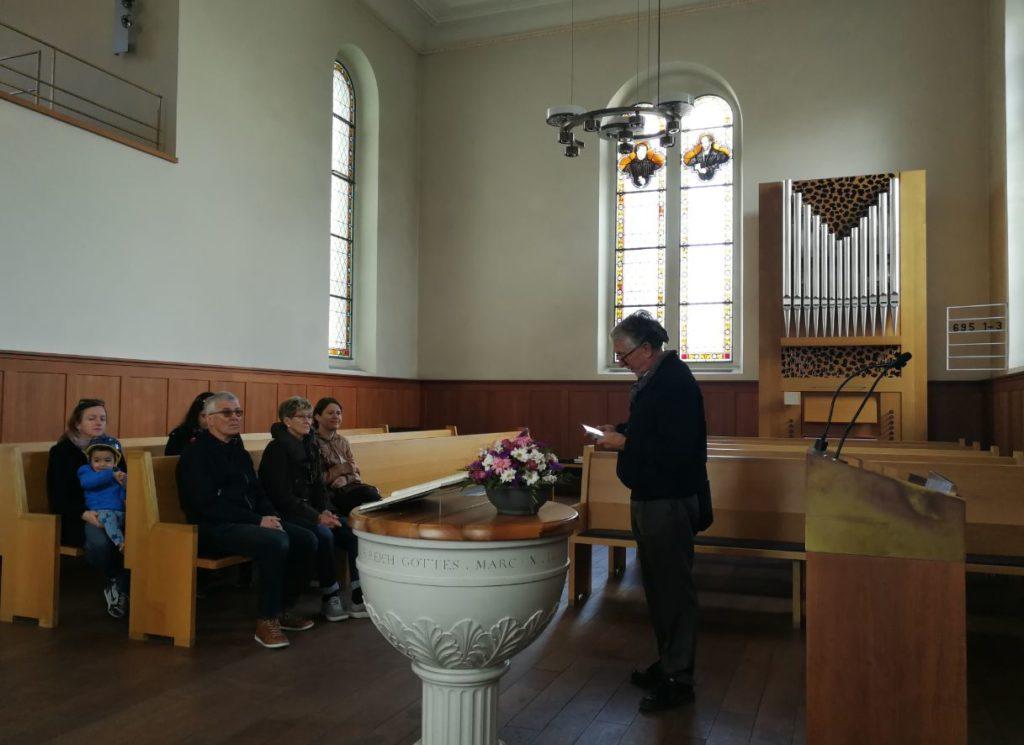 Freilager Verein Dorfführung Kirche