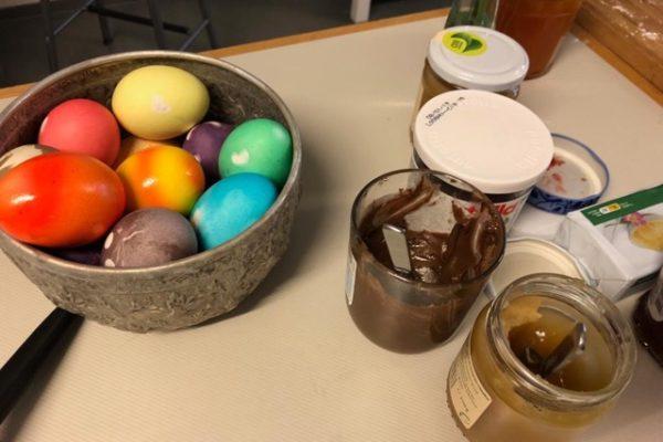 osterbrunch Eier